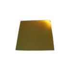 Gold plating reflector